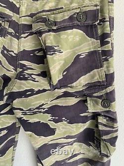 Vietnam Arvn Sud-vietnamienne Tiger Stripe Lls Camo Pantalon Pantalon Cargo