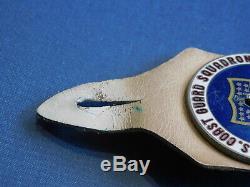 Vietnam Coast Guard Squadron One Hanger Pocket Badge Vietnam Du Sud A Fait