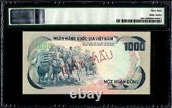 Vietnam Du Sud 1000 Dong 1972 Spécimen Pmg64