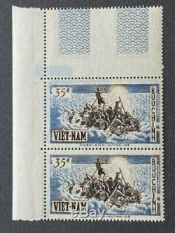 Vietnam Du Sud 1955 Sc 30/35 X 2 Blanc Brillant Pristine Nhxf