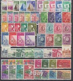Vietnam Du Sud 1957-1971 100% Collection Complète Scott#63-407 Mnh Luxe. Gomme Blanche