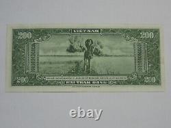 Vietnam Du Sud 200 Dong Linh Bong Sung (voir Photos) Rare