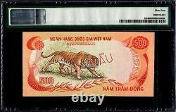 Vietnam Du Sud 500 Dong 1972 Spécimen Pmg64
