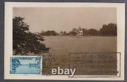 Vietnam Du Sud Maxicard Hoan Kiem Lake, Hanoi 1951