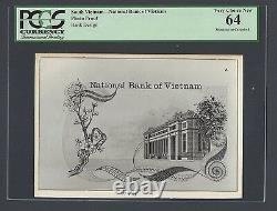 Vietnam Du Sud -national Bank Of Viet-nam Photograph Proof Uncirculated