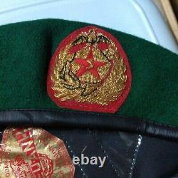 Vietnam Guerre Sud Vietnam Armée Marine Corps 60 CM Beret Du Japon 1111