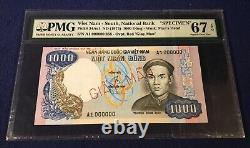 Vietnam Sud 1000 Dong 1975 Pick 34as1 Specimen Pmg67