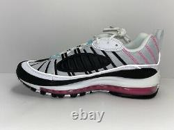 W Nike Air Max 98 South Beach Chaussures Pour Femmes Sz 10 Ah6799-065 Hommes Sz 8.5 Miami