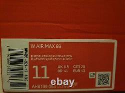 W Nike Air Max 98'south Beach' Ah6799 065 Taille Uk 8.5/eur 43